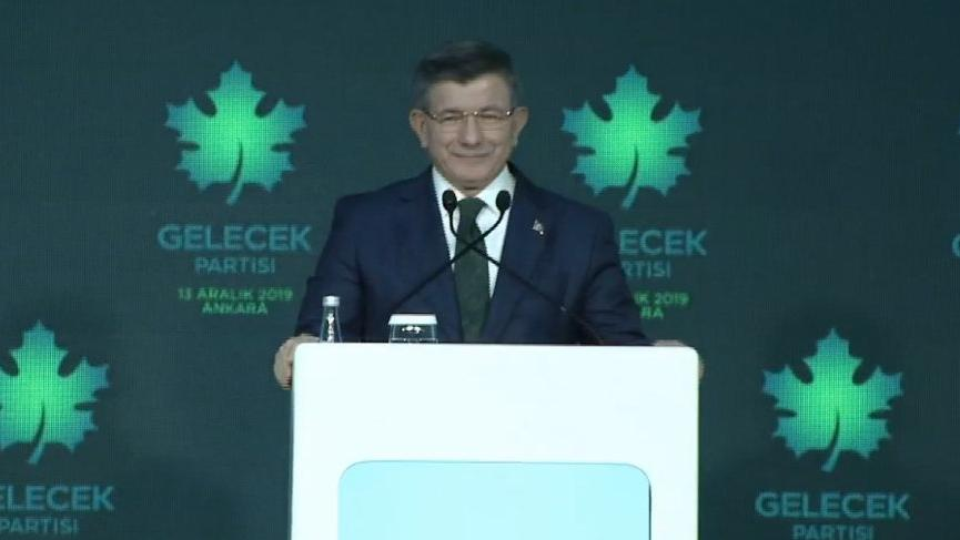 Son dakika... Davutoğlu partisini ilan etti: Gelecek Partisi
