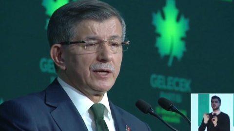 İşte Ahmet Davutoğlu'nun Gelecek Partisi Kuruluş programı konuşması - TAM METİN