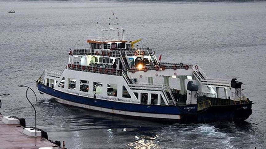 Hava şartları nedeniyle bazı feribot seferleri iptal edildi!