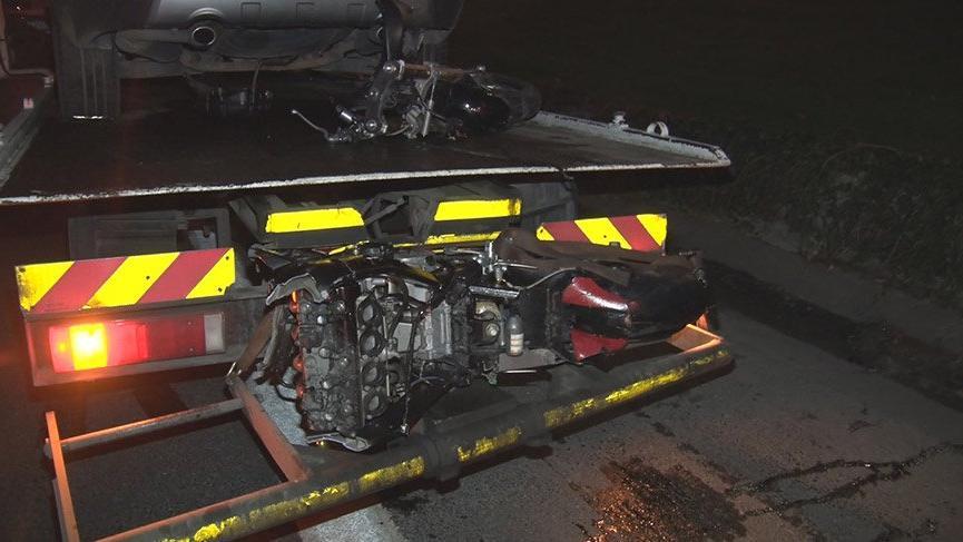 TEM Otoyolu'nda motosiklet kazası: 1 ölü