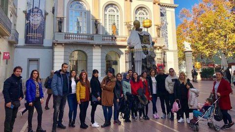 Tunceli'de görev yapan öğretmenler Barselona'yı gezdi