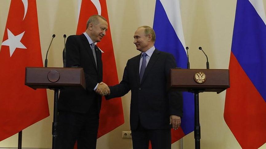 Son dakika... Erdoğan, Putin ile görüştü!
