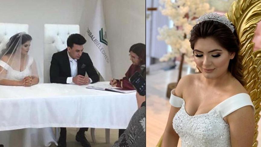 Hanife Gürdal sevgilisi Kemal Ayvaz ile evlendi!