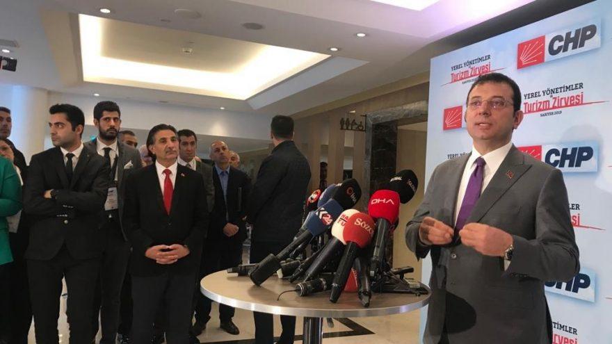 İmamoğlu: 'Kanal İstanbul bir rant projesidir'