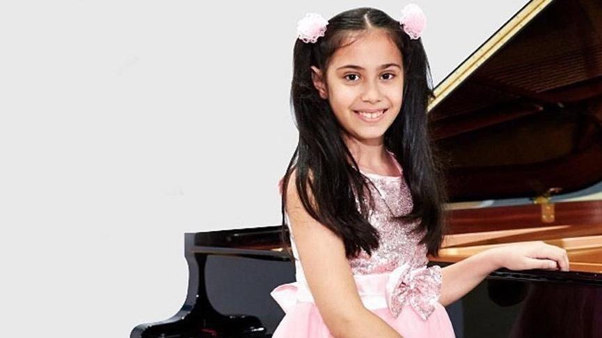 10 yaşındaki piyanist, uluslararası ödül aldı