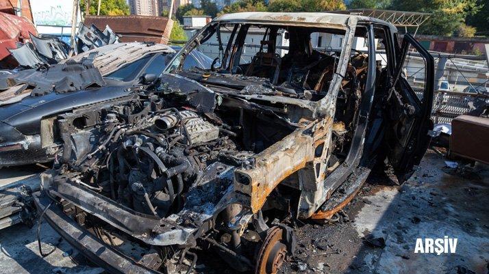 Komşuda korkutan olay: Türk diplomatın aracı kundaklandı