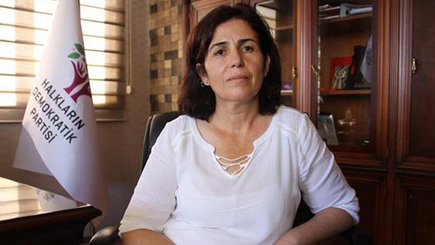 Eren'i şehit eden teröristin cenazesine katılan HDP'li başkan tutuklandı