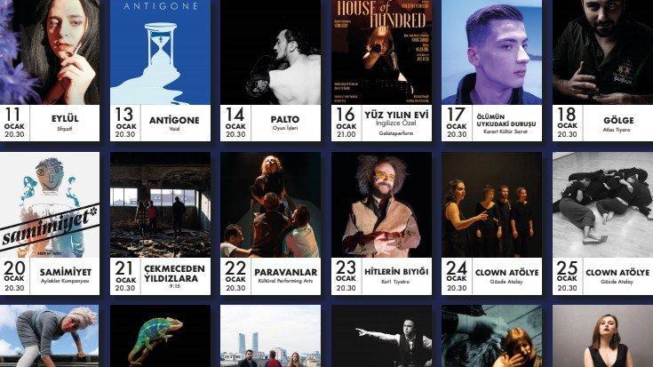Kültüral Performing Arts'ın Ocak programı açıklandı
