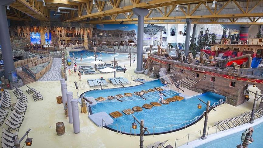 Almanya'nın devasa su parkı Rulantica