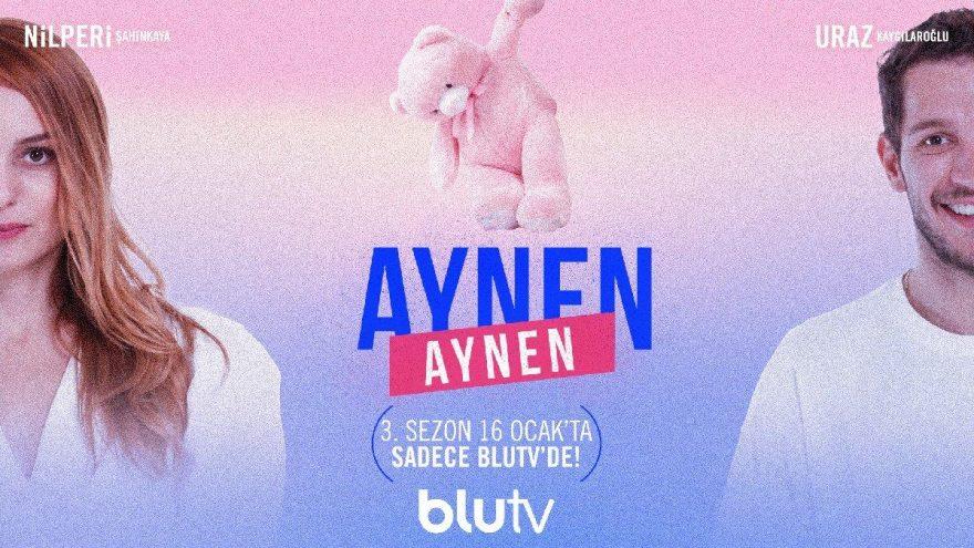 """Blu TV yayın tarihini duyurdu! """"Aynen Aynen"""" 3. sezon ne zaman başlayacak?"""