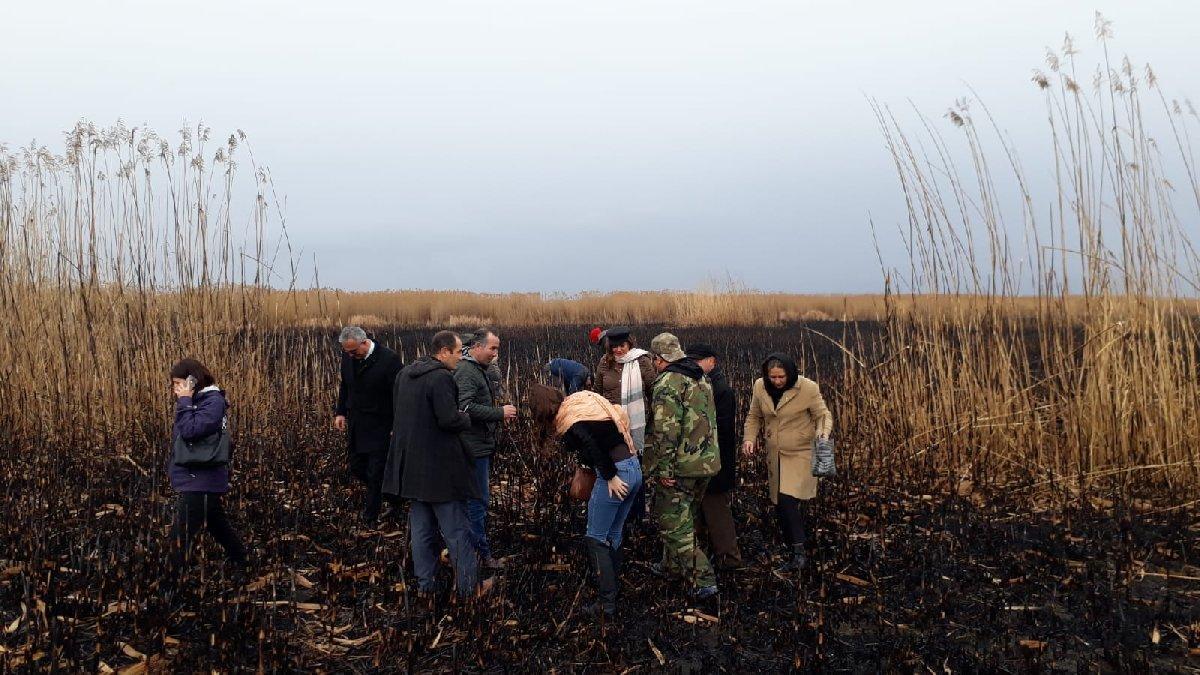 CHP'li vekil Bakana Eber Gölü'ndeki şüpheli yangını sordu