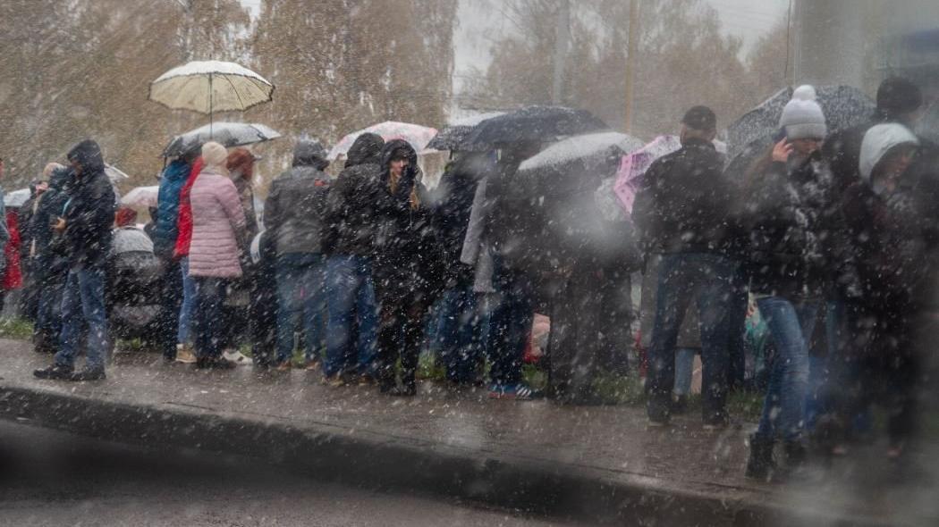 İstanbul'a karla karışık yağmur geliyor!