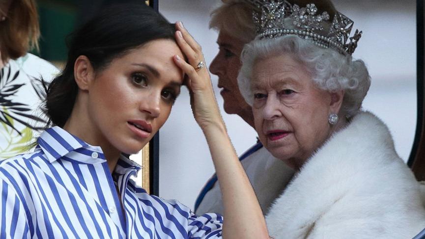 Kraliçe Elizabeth'in Noel paylaşımında Meghan Markle ve Prens Harry yer almadı