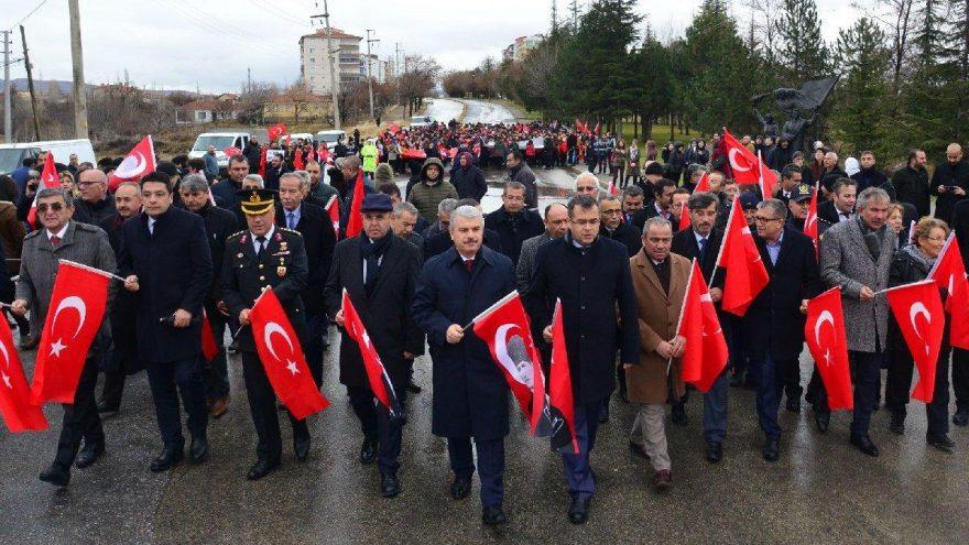 Atatürk'ün Kırşehir'e gelişinin 100. Yıl dönümü kutlandı