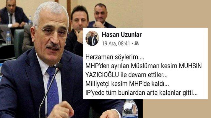 AKP'li Uzunlar'dan MHP'lilere ağır hakaret! MHP'liler çıldırdı...