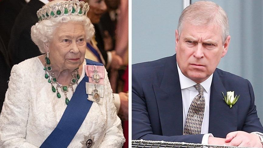 Prens Andrew'un, poposunu dönmüş Terrier köpekli Noel kartı 'Skandal' olarak yorumlandı