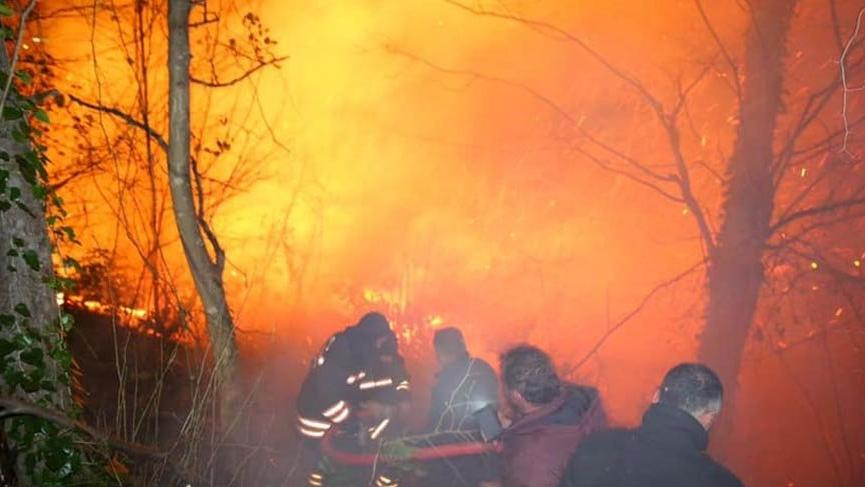 Karadeniz alev alev! Beş kentte yangınlar sürüyor