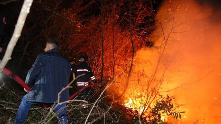 Son dakika... Karadeniz'deki büyük yangınla ilgili 7 kişi hakkında yasal işlem