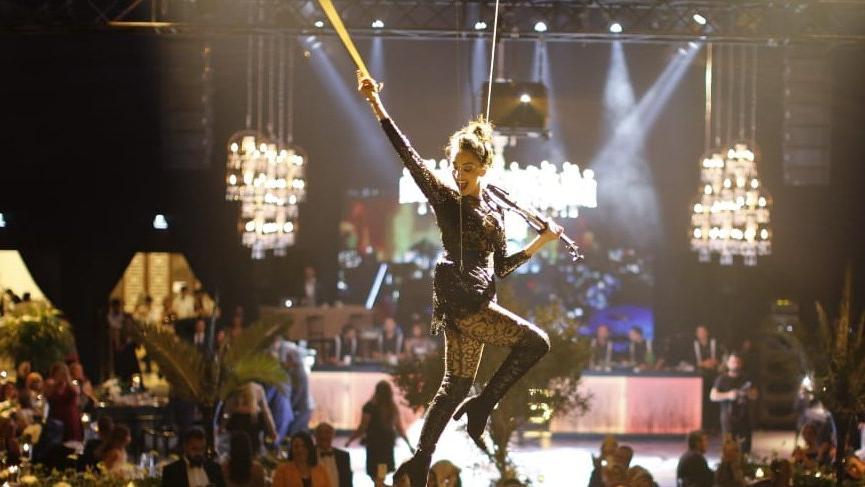 Keman virtüözü Giselle Tavilson'dan özel performans