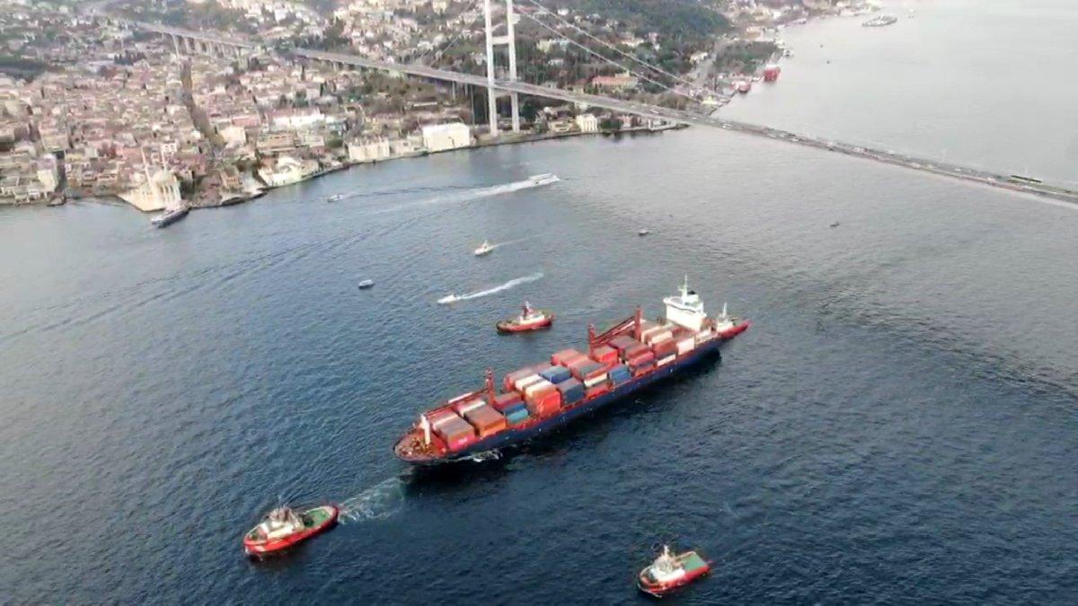 Gemi kazası sonrası hükümetten Kanal İstanbul çıkışı!
