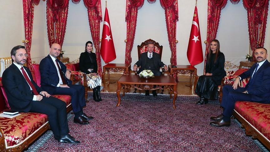 Cumhurbaşkanı Erdoğan ile görüşen Demet Akalın'dan paylaşım!