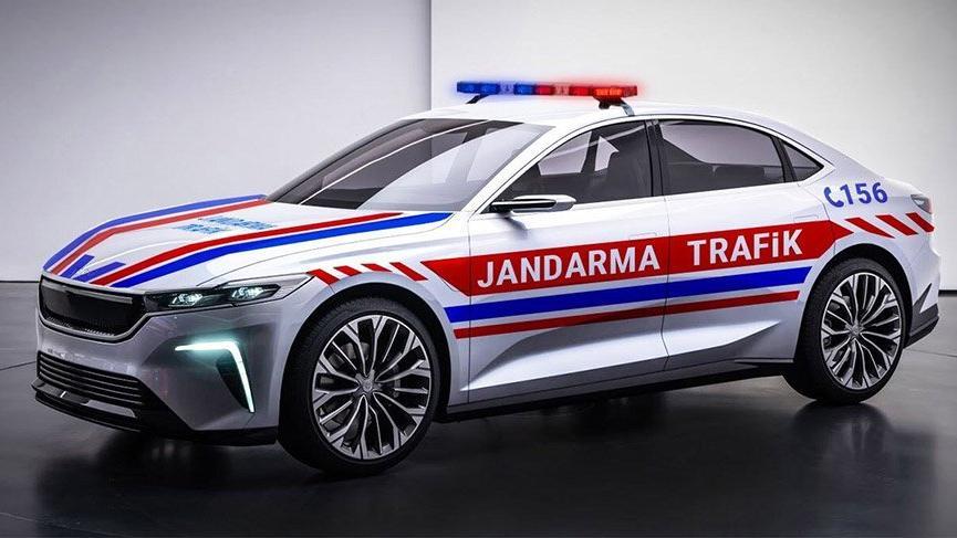 Jandarma'dan yerli otomobile destek!