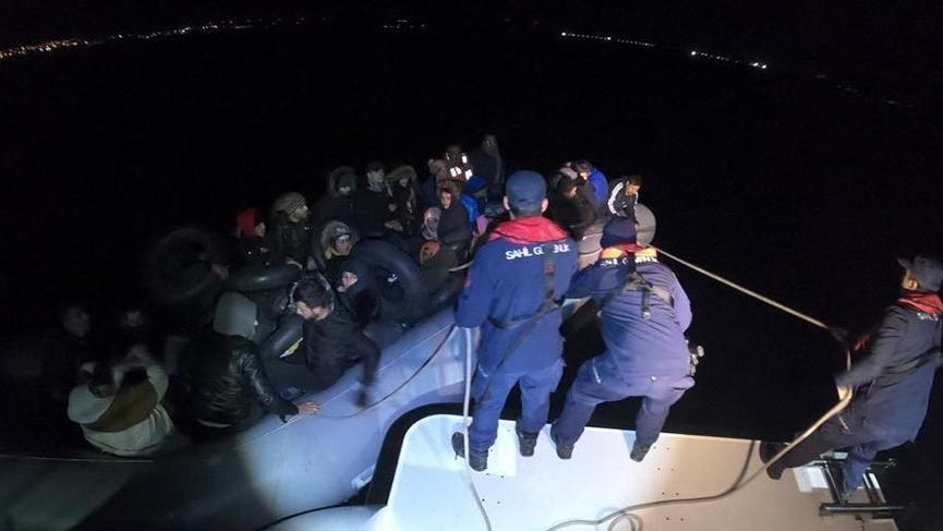 İki günde 76 kaçak göçmen yakalandı