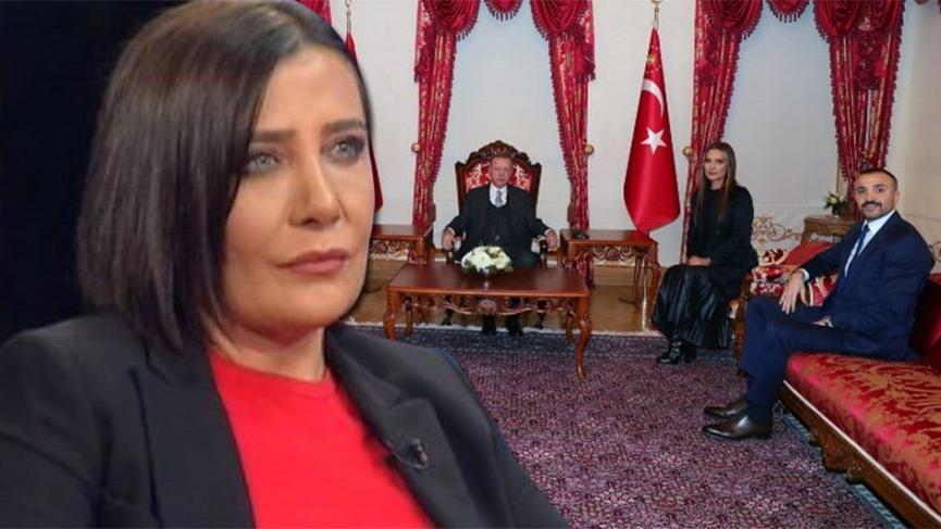 Sevilay Yılman'dan Okan Kurt yorumu: 'Hangi sıfatla Erdoğan'ın karşına oturdu?'