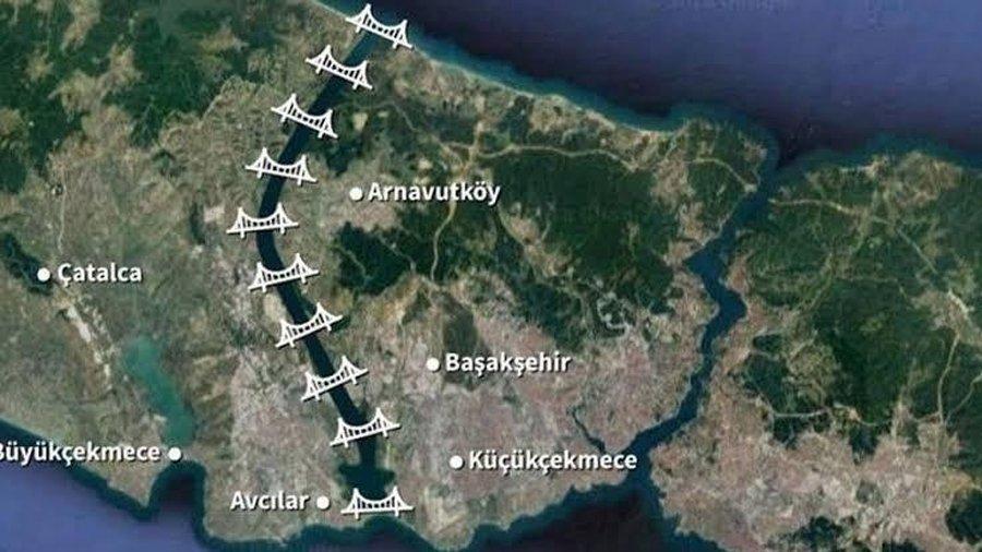 Kanal İstanbul'da ÇED süreci tamamlanmadan planlar değişti