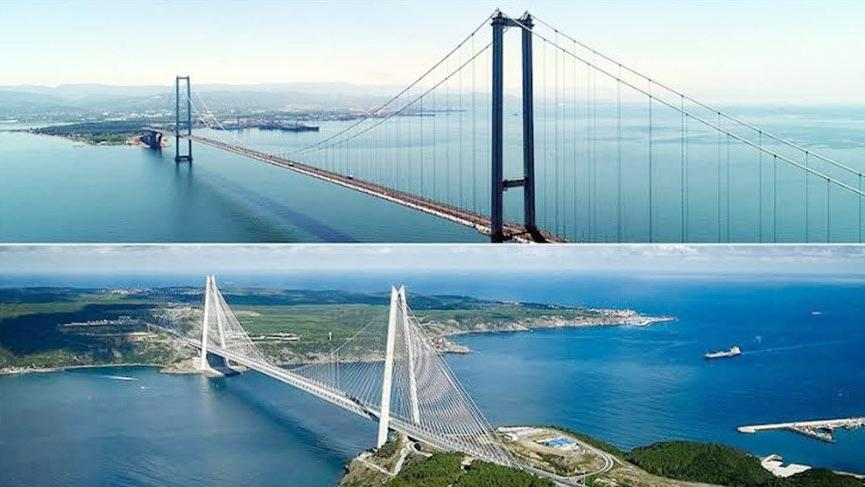 Yavuz Sultan Selim ve Osmangazi köprülerine zam