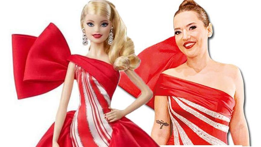 Demet Akalın Barbie oldu