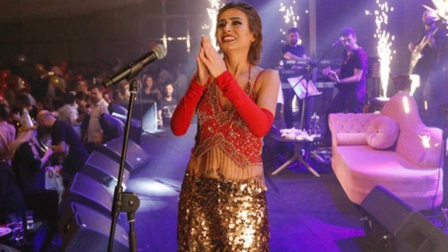 Yıldız Tilbe yeni yılda Kıbrıs'ta konser verdi