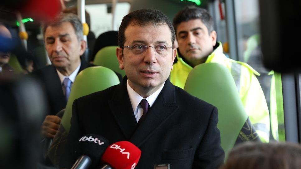 İmamoğlu, ikinci kez metrobüs aracı test etti
