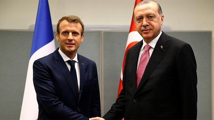 Cumhurbaşkanı Erdoğan ile Macron Libya'yı konuştu!