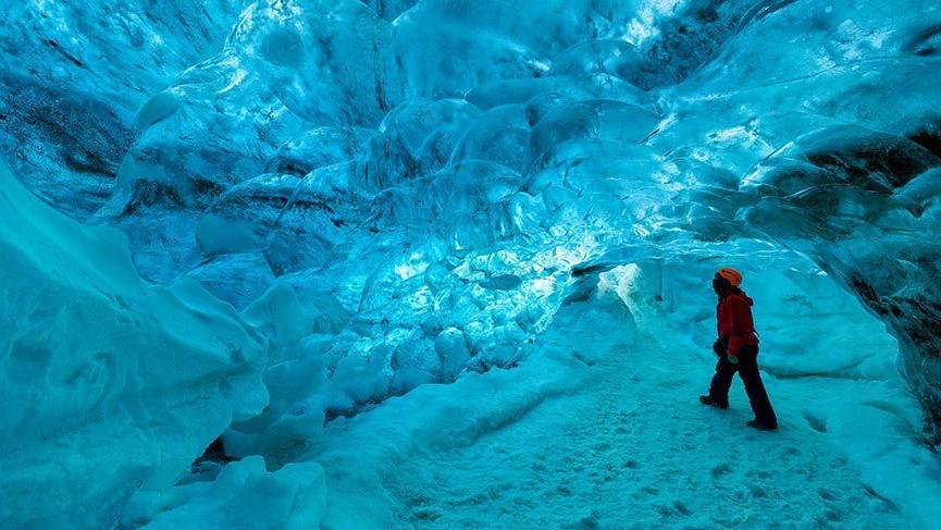 İzlanda'nın en büyük buzulu Vatnajökull