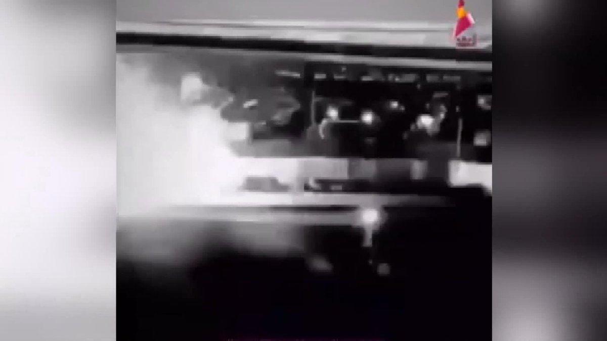 Kasım Süleymani'ye suikastın görüntüleri paylaşıldı!