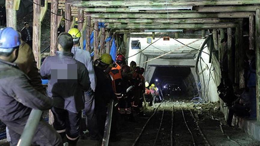 135 madenci kış günü işsiz kaldı!