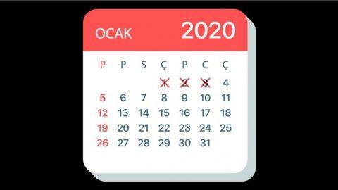 2020 üç günde başımızı döndürdü
