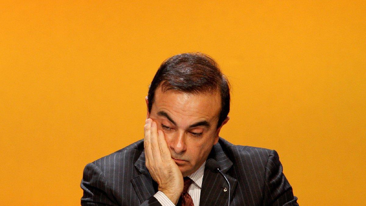 Ünlü iş insanı Ghosn, müzik kutusunda firar etmiş