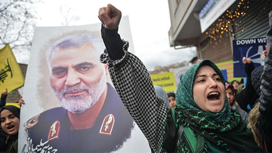 İstanbul'da, Kasım Süleymani'nin öldürülmesi protesto edildi!