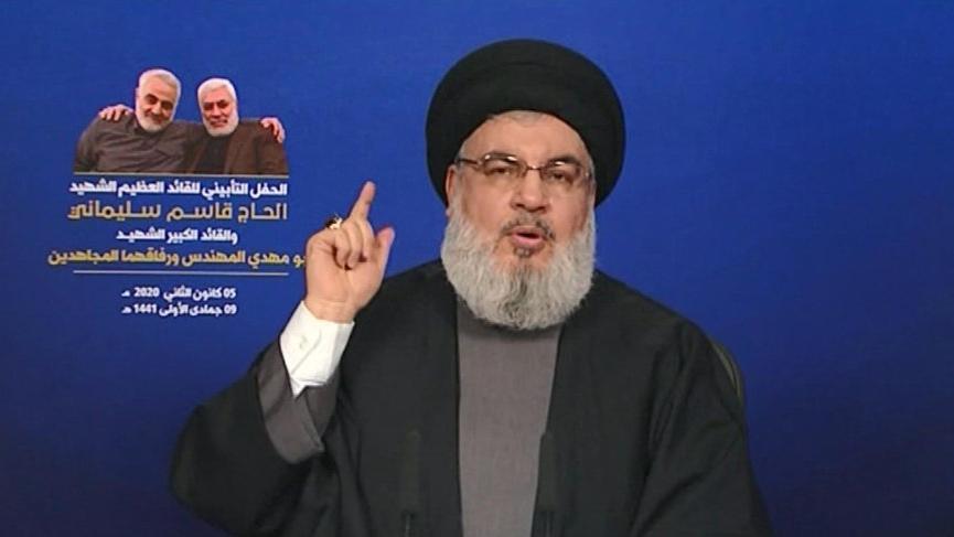 Nasrallah: Süleymani'nin ölümü bölgede yeni bir dönemi başlattı