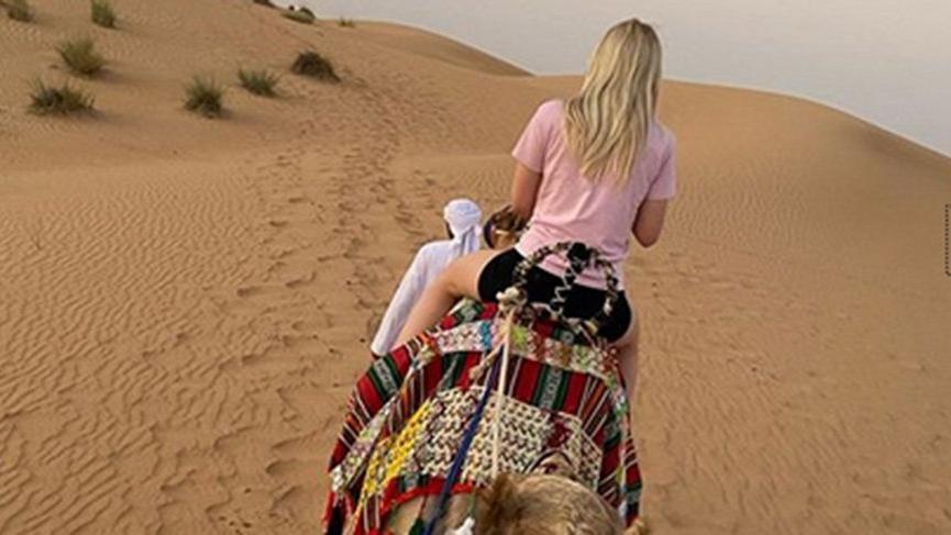 Aleyna'nın deve keyfi