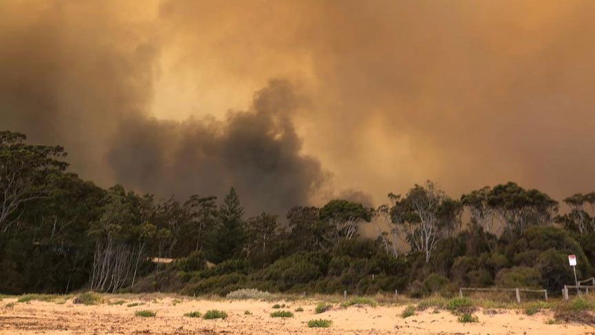 Avustralya'da yangınlar için korkutan açıklama!