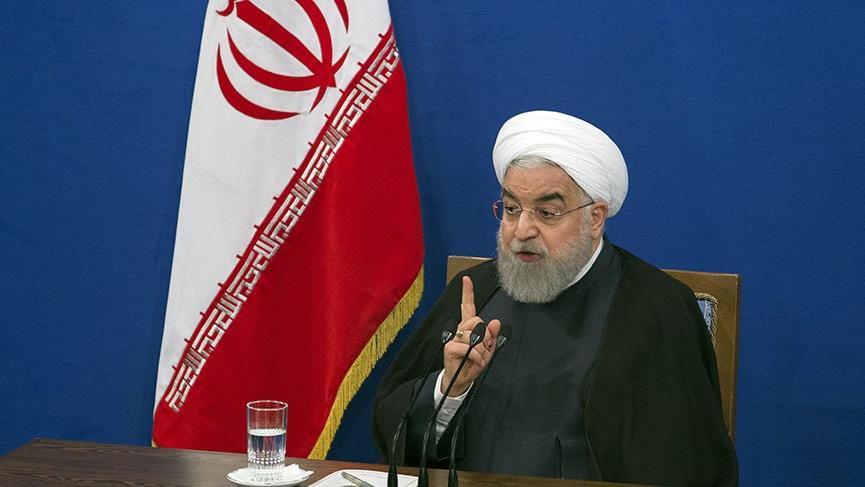 Son dakika... Ruhani'den Trump'a sert yanıt!