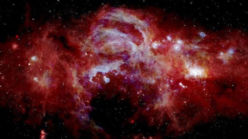 NASA açıkladı! İşte Samanyolu Galaksisi'nin merkezi...