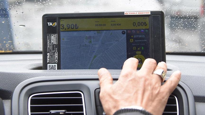 İzmir'de taksiler UBER'leşiyor!