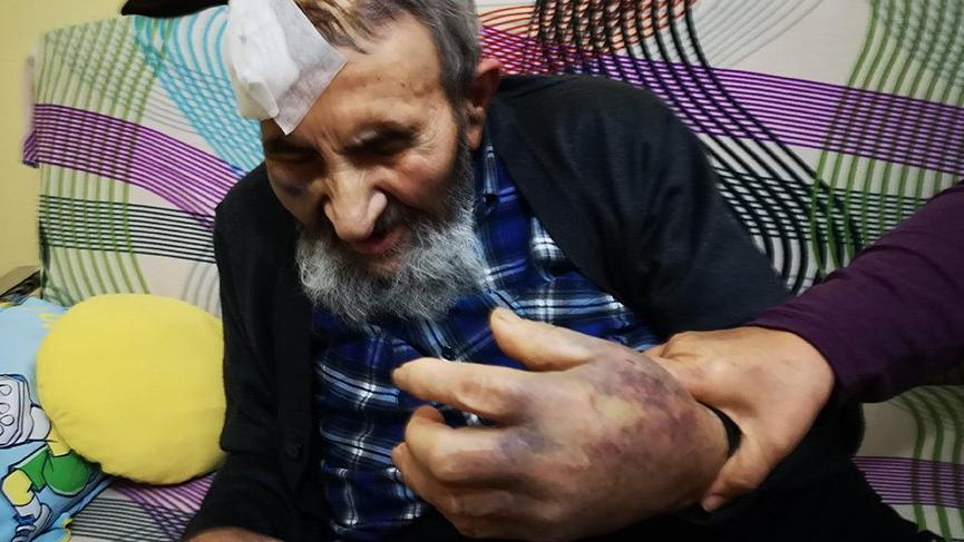 Dehşet! 93 yaşındaki adamı öldüresiye dövüp gasp ettiler