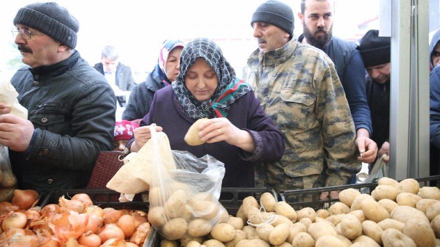 Son dakika… Patates ve soğanın yurt dışına satışına kısıtlama getirildi