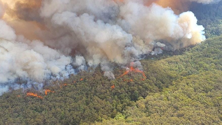 Son durum: Avustralya'daki yangından korkutan haber...