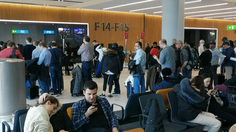 İstanbul Havalimanı'nda çok sayıda uçuş iptal edildi